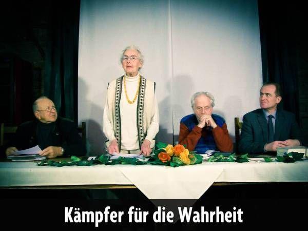 """Egy 86 esztendős német hölgy példát mutat: """"hamis vádaskodás"""" miatt feljelentette a német zsidóság vezetőit, és az elítélt revizionisták szabadon bocsátását, a jog és törvényesség helyreállítását követeli"""