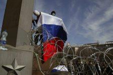 Oroszország falat épít a Krím-félszigeten