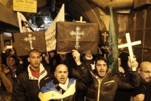 Válasz a Gázában megölt négy keresztény palesztinra