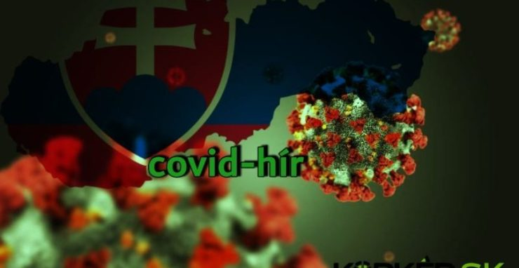 Koronavírus Szlovákiában: szerdán 61 PCR-teszt mutatott pozitív eredményt, 8-an elhunytak