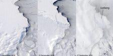 Gigászi méretű jégtömb szakadt le az Antarktiszról