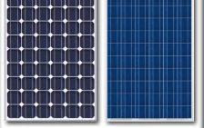Monokristályos és polikristályos napelemes rendszerek