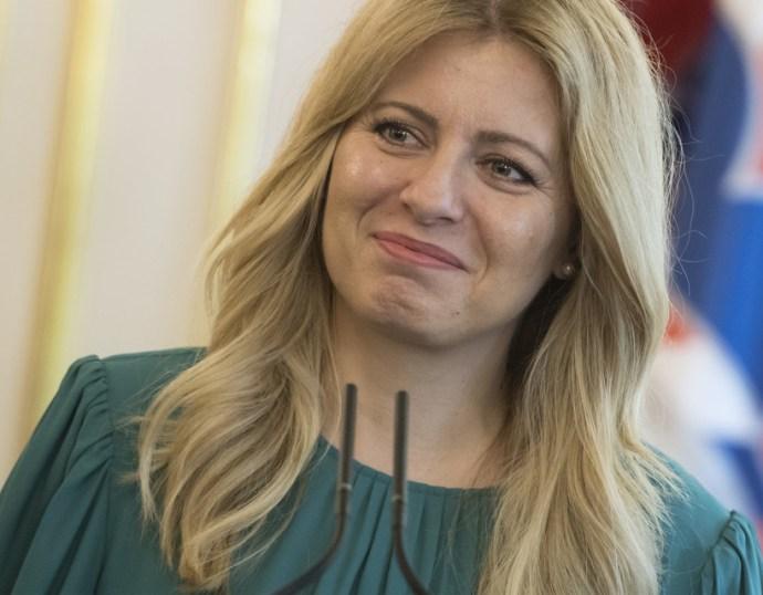 Čaputová megvétózta a közbeszerzésről és a póttartásdíjról szóló törvényt
