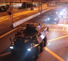 """Trump """"emberséges"""" fellépésre kéri Kínát Hongkongban"""