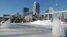 Sarkvidéki hideg az Egyesült Államokban, befagyott a Niagara