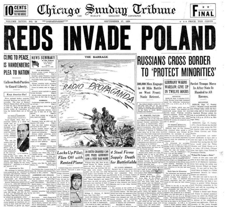Orosz külügy: már 1939-ben ünnepléssel fogadták a felszabadító Vörös Hadsereget