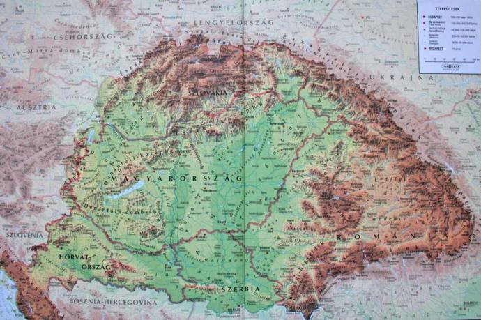 Kutatás: leginkább nekünk, magyaroknak van területi követelésünk szomszédainkkal szemben