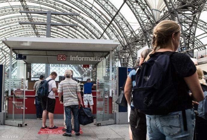 Tucatnyi helyen gyújtogattak a német vasúti pályákon – anarchisták készülhettek szabotázsakcióra
