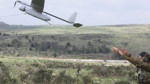 Izraeli kém drón zuhant le Dél-Libanonban (képek)