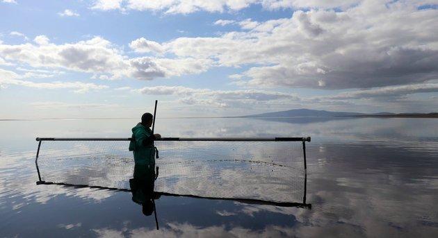 Skócia egy déli öblében ma is úgy halásznak, ahogy egykor a vikingek tették