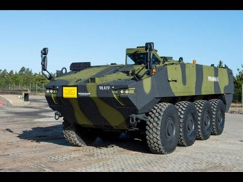 Érkezik az elsõ két Piranha 5 páncélozott csapatszállító harcjármû