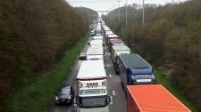 A belga hatóságok legkevesebb 112 szlovák kamiont foglaltak le
