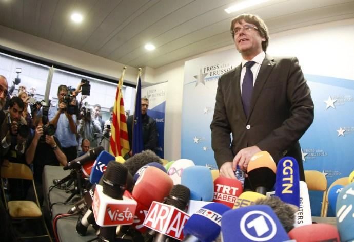 Nem kaphatott volna menedéket Belgiumban Puigdemont