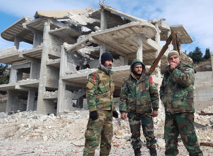 Fordulat a szír harcmezőn
