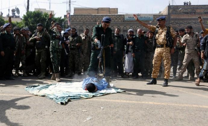 Nyilvános kivégzés volt Jemenben
