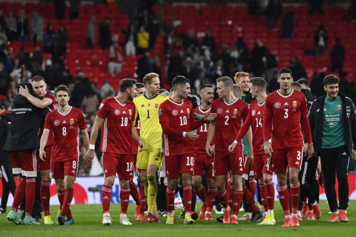 Vb-selejtező: Bravúros döntetlent játszott a magyar labdarúgó-válogatott Londonban
