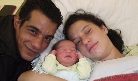 Az ország idei első újszülöttje: Rácz Péter Rikárdó