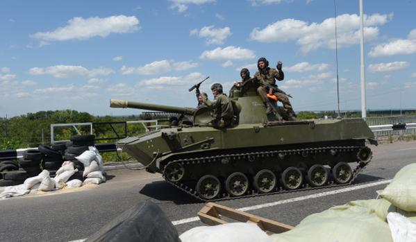 Az ukrán hadsereg elfoglalta Kramatorszkot