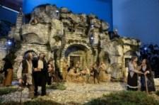 Különleges betlehemi jászol a vatikáni Szent Márta-házban Szent Ferenccel és társaival