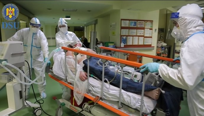 Drámai videót forgattak Arafaték a vásárhelyi sürgõsségi kórházban