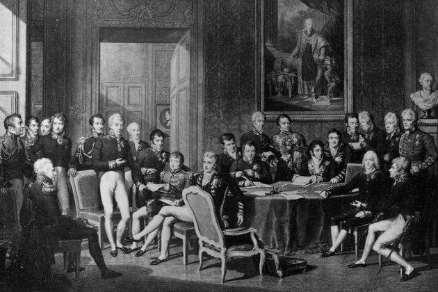 Titkos alkukkal és intrikákkal terelte Európa államait a béke útjára a bécsi kongresszus