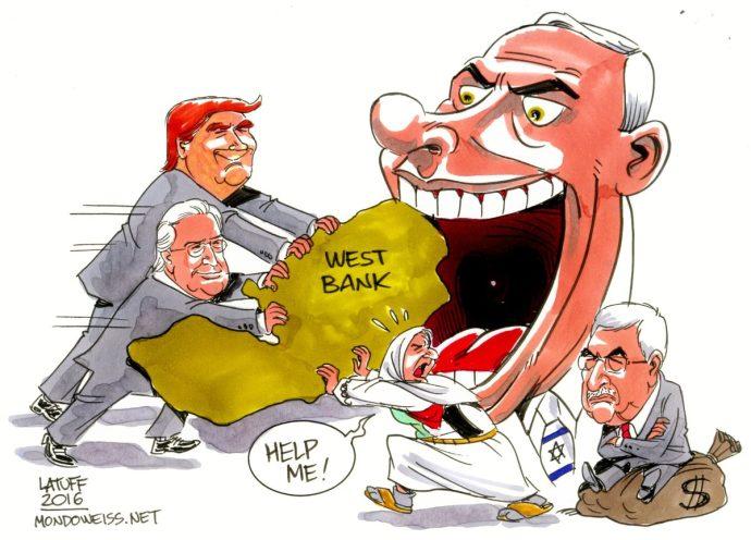 """""""Történelmi lépés"""": Netanjahu Ciszjordánia bekebelezésére készül – amerikai segítséggel"""