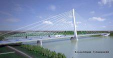 Orbán Viktor és Igor Matovič részvételével ma átadták a két Komáromot összekötő Monostori hidat