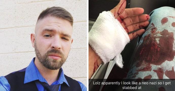 """A fiatalemberbe kést döftek, mert azt hitték a frizurájáról, hogy """"neonáci"""""""