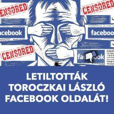 A Facebook letiltotta Toroczkai László Mi Hazánk-elnök közösségi oldalát