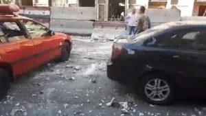 Újabb öngyilkos merénylet rázta meg Damaszkuszt (videó)
