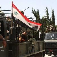 Hadijelentés a dél-szíriai tartományokból