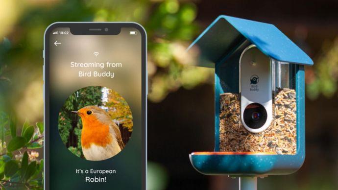 Szokatlan siker lett az okos-madáretető a Kickstarteren