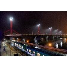Nehéz lehet a villamos a Rákóczi hídnak