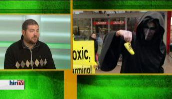 Nagy paprikavizsgálat Greenpeace módra