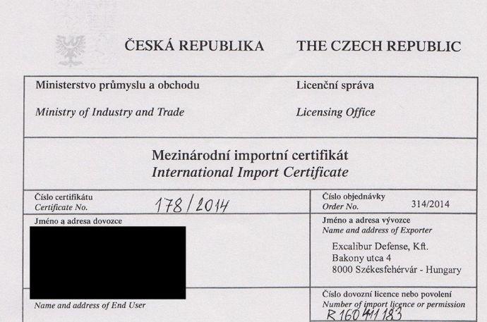 Íme a második cseh tankengedély!