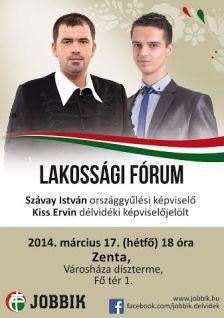 Délvidéken fórumozik a Jobbik