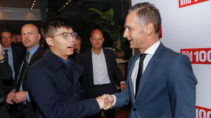 Diplomáciai botrány kíséri Joshua Wong útját