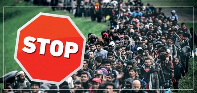 """Egy brit párttól """"lophatta"""" el bevándorlásellenes fotóját a magyar kormány"""