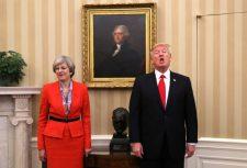 Trump a brit kormányfőnek: inkább a saját dolgával foglalkozzon!