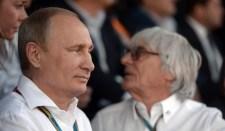 Ecclestone beszámolt Putyin érzelmeiről a Szocsi Nagydíj kapcsán