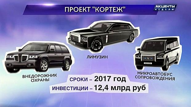 Új orosz páncélozott autókat kap Putyin elnök és biztonsági kísérete