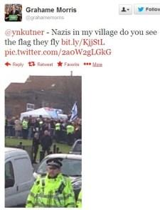 Náci zászlónak nevezte a Dávid-csillagos lobogót – már föl is került a veszedelmes antiszemiták feketelistájára