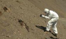 Ősi múmiákat rázott ki a chilei földrengés a sírjukból