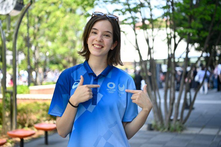 Tokió – Protokoll feladatokat lát el az olimpia magyar önkéntese