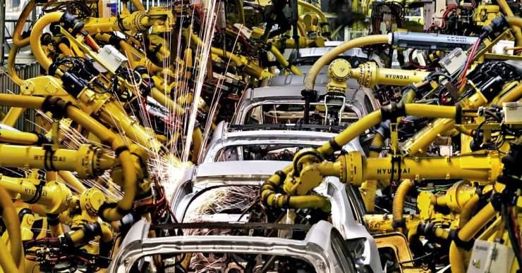 A szlovák ipari teljesítmény 2021 márciusában