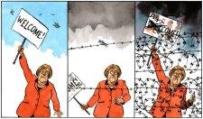 Ilyen varázslatos lenne Merkel megtérése – ha a holoagymosás nem nullázta volna le a német nép élni akarását