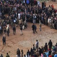 Halálra köveztek egy férfit és egy nőt Szíriában (képgaléria)