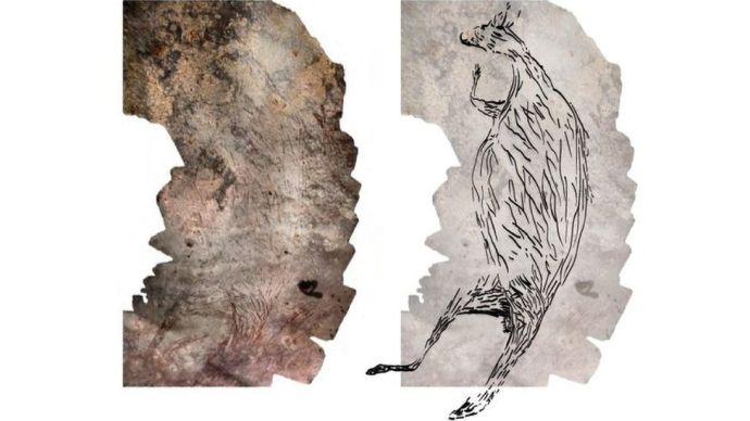 Rájöttek mit ábrázol egy 17 ezer éves barlangrajz