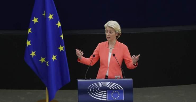 Von der Leyen évértékelőt tartott az Európai Parlamentben.