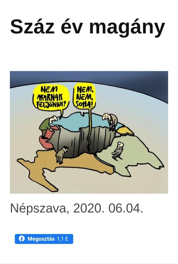Durva Izrael-gúnyrajzzal jelentkezett a Népszava karikaturistája